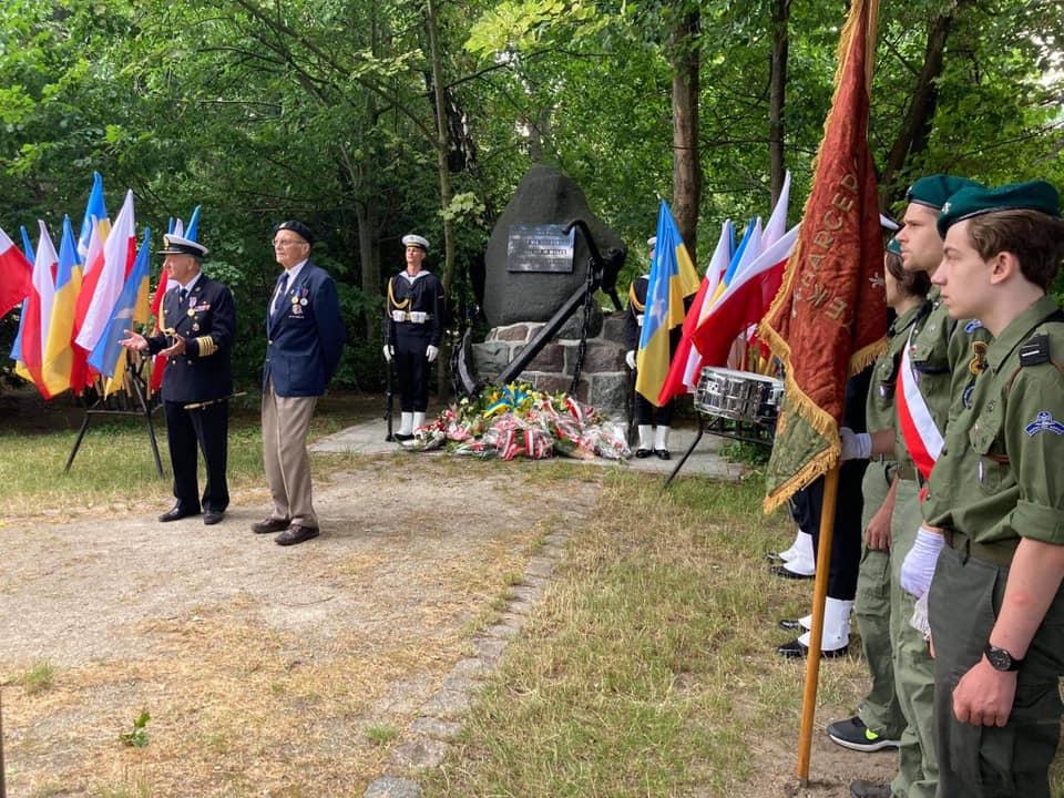 Reprezentacja Hufca ZHP Sopot uczestniczyła w obchodach Święta Marynarki Wojennej